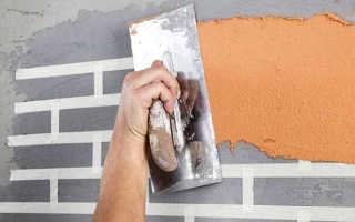Лучшие способы сделать декоративную кирпичную стену из штукатурки